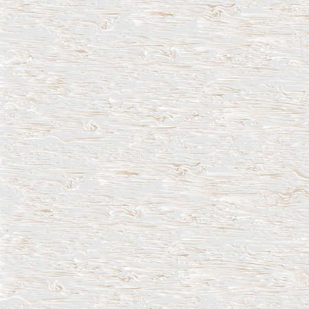 Realistic White Wooden Texture. Vector wood background