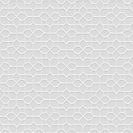 Delicate grijs Naadloos Bloem in Oosterse stijl. Abstracte Geometrische Ornament - Oost-motief. vector achtergrond