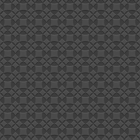 structured: Black 3d seamless geometric pattern. Vector illustration .Structured wallpaper for design. Vector background