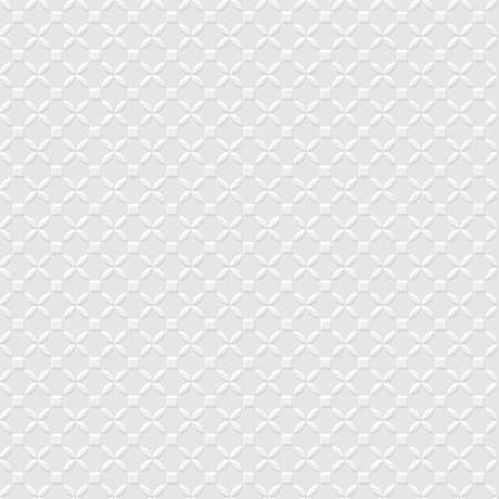 grey background: 3d Grey Geometric Simple Seamless Pattern. Vector background