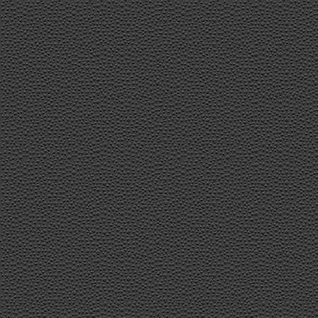 black leather: Stylized leather - black granular textured background. Vector grunge pattern for design