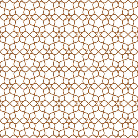 classic interior: Delicate Seamless Flower Pattern in Oriental style. Floral Geometric Ornament - East motif . Vector background