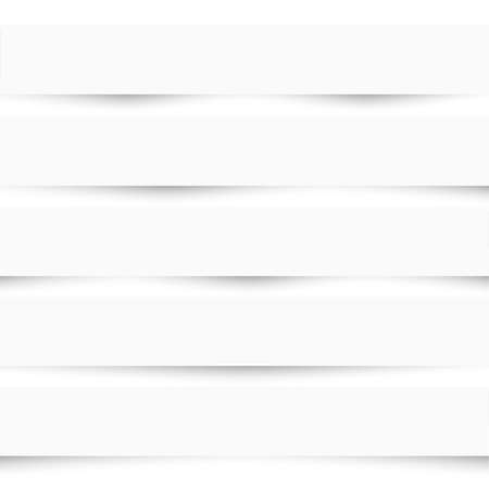 separators: Collection of white note papers with different shadows. Paper templates. Paper separators, dividers,banners. Vector set