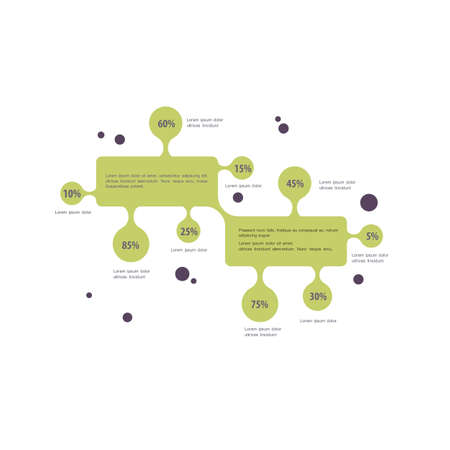 communicatio: Minimal Infographic design  for business. Vector template for report