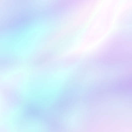 Abstract soft holographic background in pastel light colors. Trendy wallpaper - hipster style. Vector illustration for modern style trends, for creative project design : web design or printed products