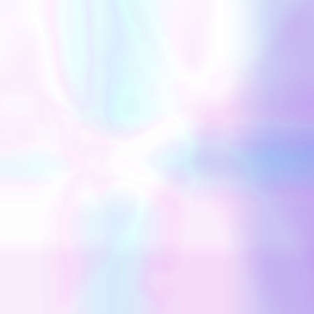 Abstract blurred holographic background in pastel light colors. Trendy wallpaper - hipster style. Vector illustration for modern style trends, for creative project design : web design or printed products