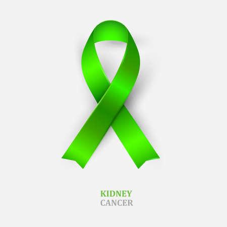 Green Ribbon Kidney Cancer Awareness Mental Healthscoliosis