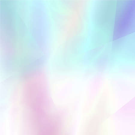 Abstract blurred holographic background in light colors. Trendy wallpaper - hipster style. Vector illustration for modern style trends, for creative project design : web design or printed products