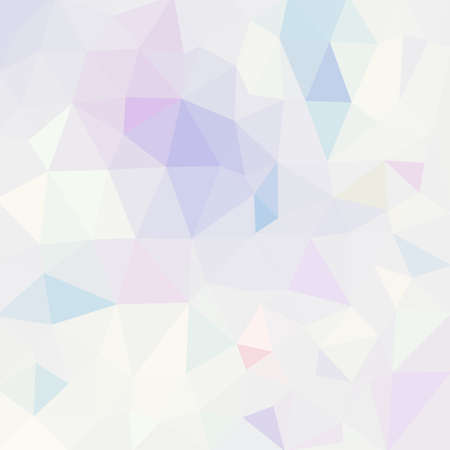 pastel colors: Fondo de mosaico poligonal en colores pastel. Creativa plantilla de diseño de papel tapiz ilustración .Vector