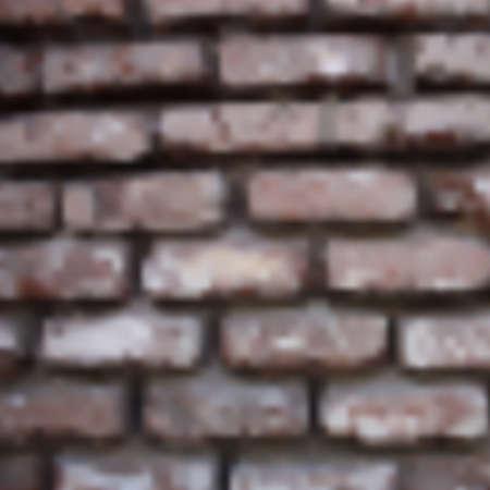 blurr: Vector blurred old brick wall. Textured grunge illustration using gradient mesh. Illustration