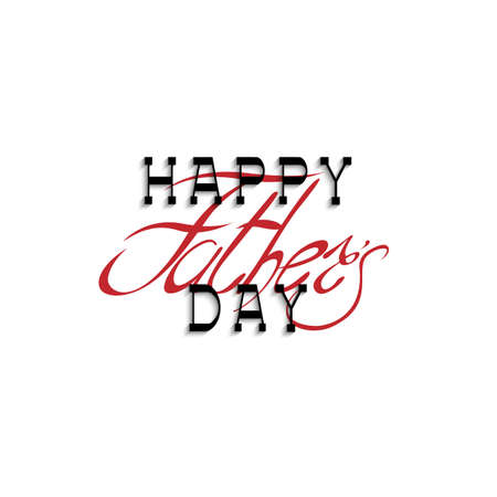 texture: Happy fathers day calligraphy handwritten lettering. Editale vector template for design