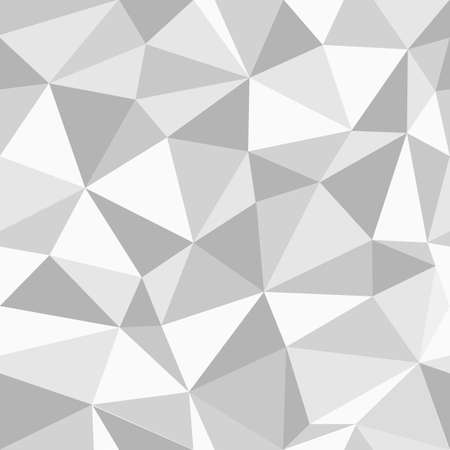 gray texture: Grey triangles seamless pattern. Geometric wallpaper. Vector background