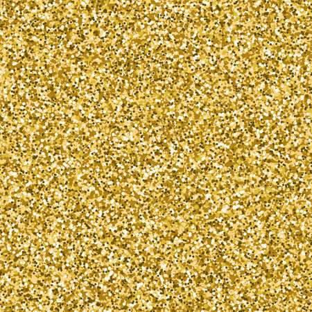 Vector image of gold glitter textured background. Golden texture template for posters,invitations, posters, cards  Illustration