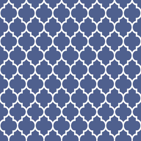 traditional culture: Geometric pattern in Arabian style,blue and white ornament. Abstract vector background. Arabic wallpaper,islamic design Illustration