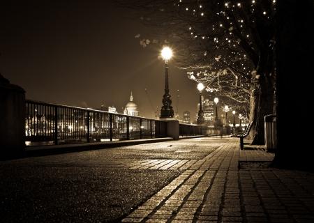 Night London Фото со стока