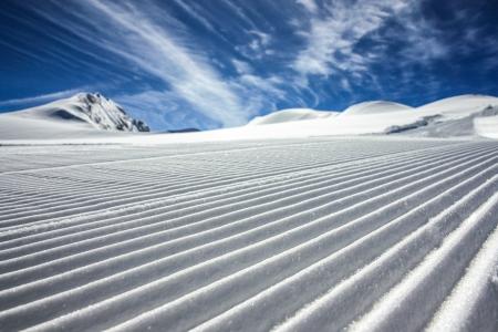 Skigebiet Kaprun Standard-Bild - 15265518