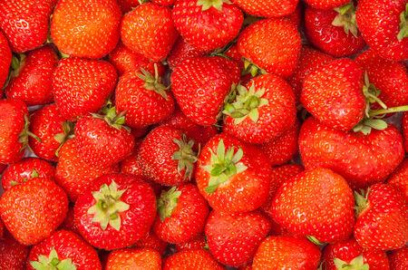 Strawberry - full frame Фото со стока
