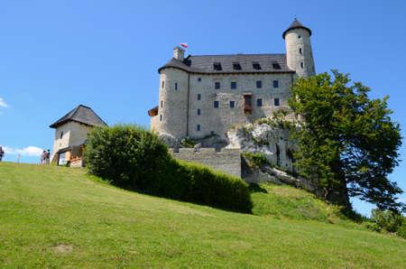 bobolice: Castle in Poland (Bobolice) Editorial