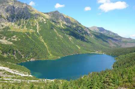 morskie: Lake in the mountains (Morskie Oko)