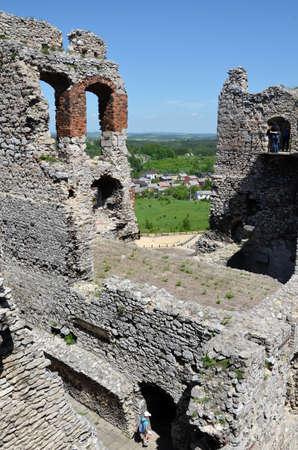 Castle in Poland (Ogrodzieniec)