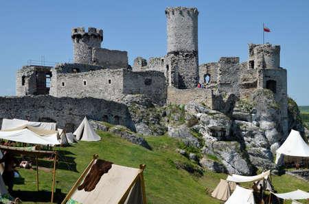 ogrodzieniec: Castle in Poland (Ogrodzieniec) Editorial