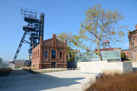 Old mine in Katowice (Poland)