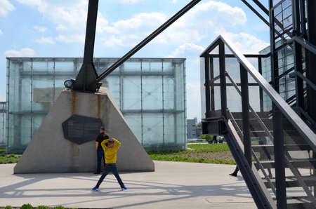 ade: Museum building in Katowice Poland