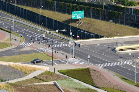 crossroad: Encrucijada en Katowice Polonia