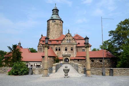 poland: Castle Czocha in Poland Editorial