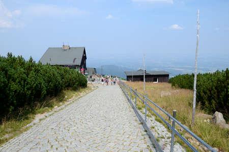 Mountain trail - Giant Mountains Giant Mountains in Poland