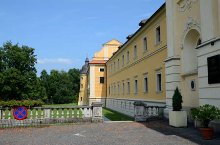 rudy: Cistercian monasteries and palaces in Rudy, Poland