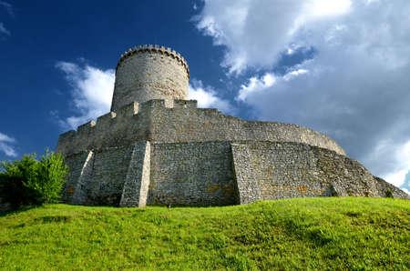 malone: Castle in Bedzin, Poland Editorial