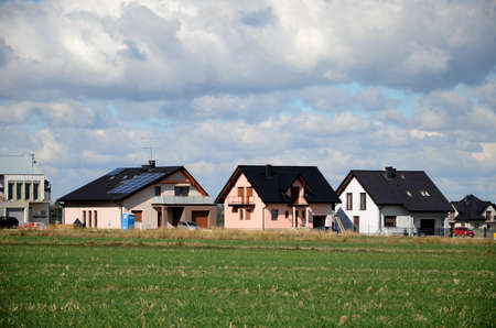 ade: Houses in the suburb