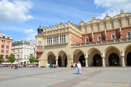 malone: Cracow in Poland old city - Cloth