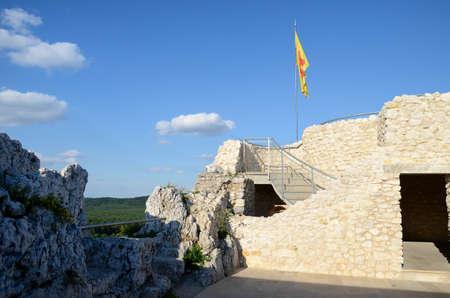 malone: Castle Rabsztyn in Poland Editorial