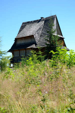 malone: Wooden house in the mountains (The Tatras in Poland)