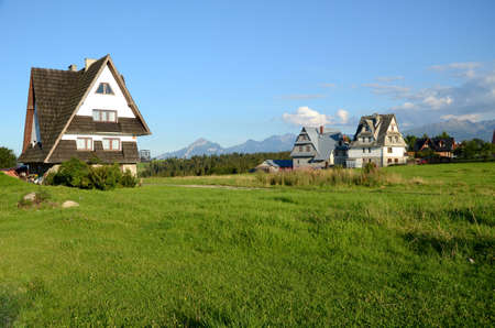 malone: The village in the Tatra Mountains (Poland)