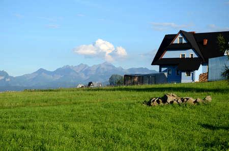highlander: La aldea en las montañas de Tatra (Polonia)