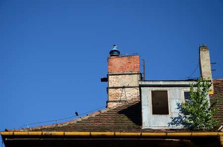 old roof Stock fotó