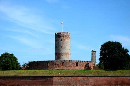 Historic fortress Wisoujcie in Gdansk (Poland)