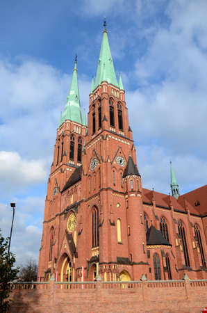 Cathedral in Rybnik (Poland)