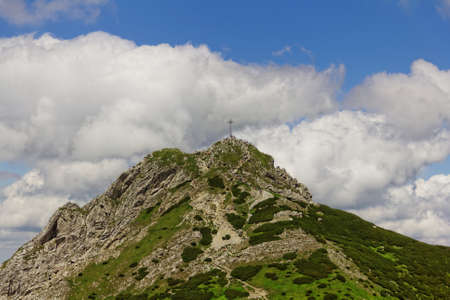 giewont: giewont peak in Poland