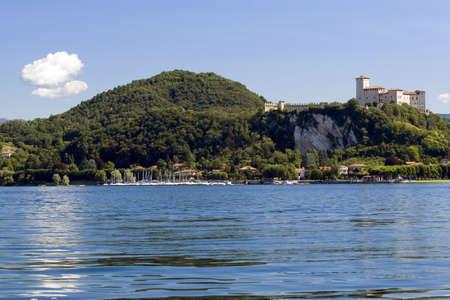 arona: Maggiore lake in Italy (environs of Arona) Stock Photo