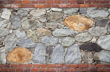 concrete surface finishing: Pattern of old stone wall
