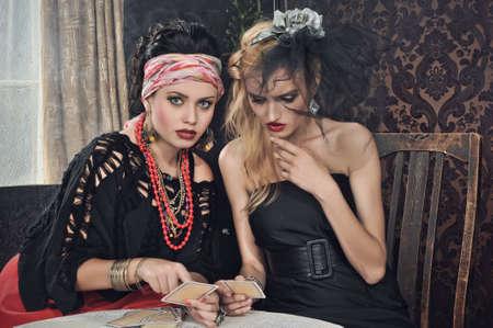 gipsy: Gypsy fortune-teller cards spells