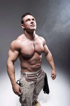 Muscular man photo