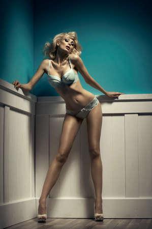 sexy young girls: Мода сексуальный стрелять из молодой сексуальность женщины в нижнем белье