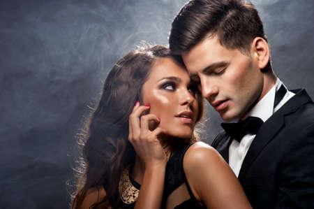 sexy nackte frau: Sinnlich Portr�t von s��es Paar