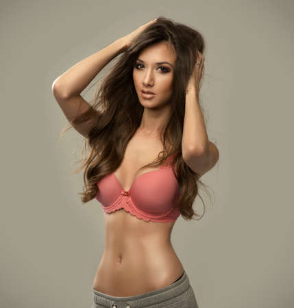 Beauty wearing lingerie