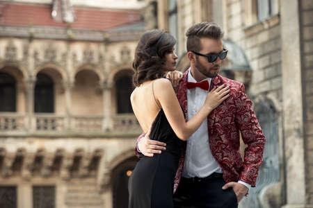 man and woman sex: Портрет молодой пары в любви